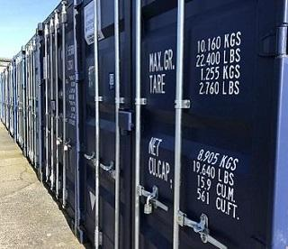 Container storage in Penzance