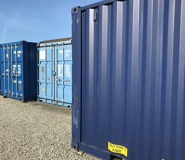 Storage containers near Penzance