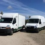 We have a range of vehicle sizes so access is no problem